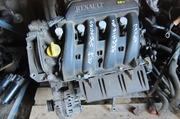 Renault Megane мотор двигатель матор двигун K4j